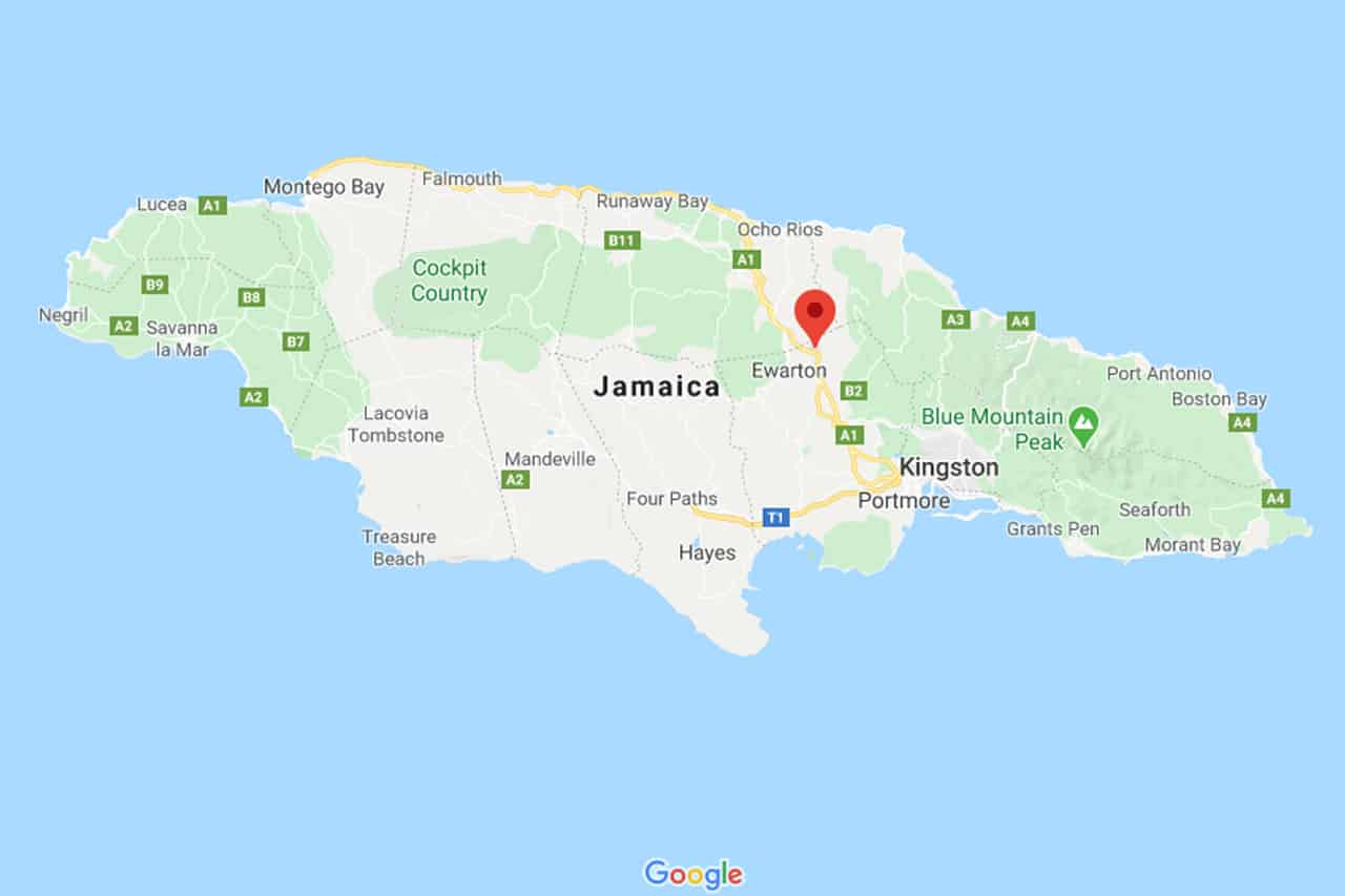 Estradas na Jamaica