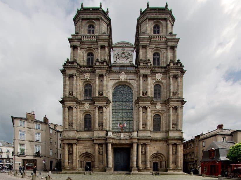 o que fazer em rennes Catedral Saint-Pierre