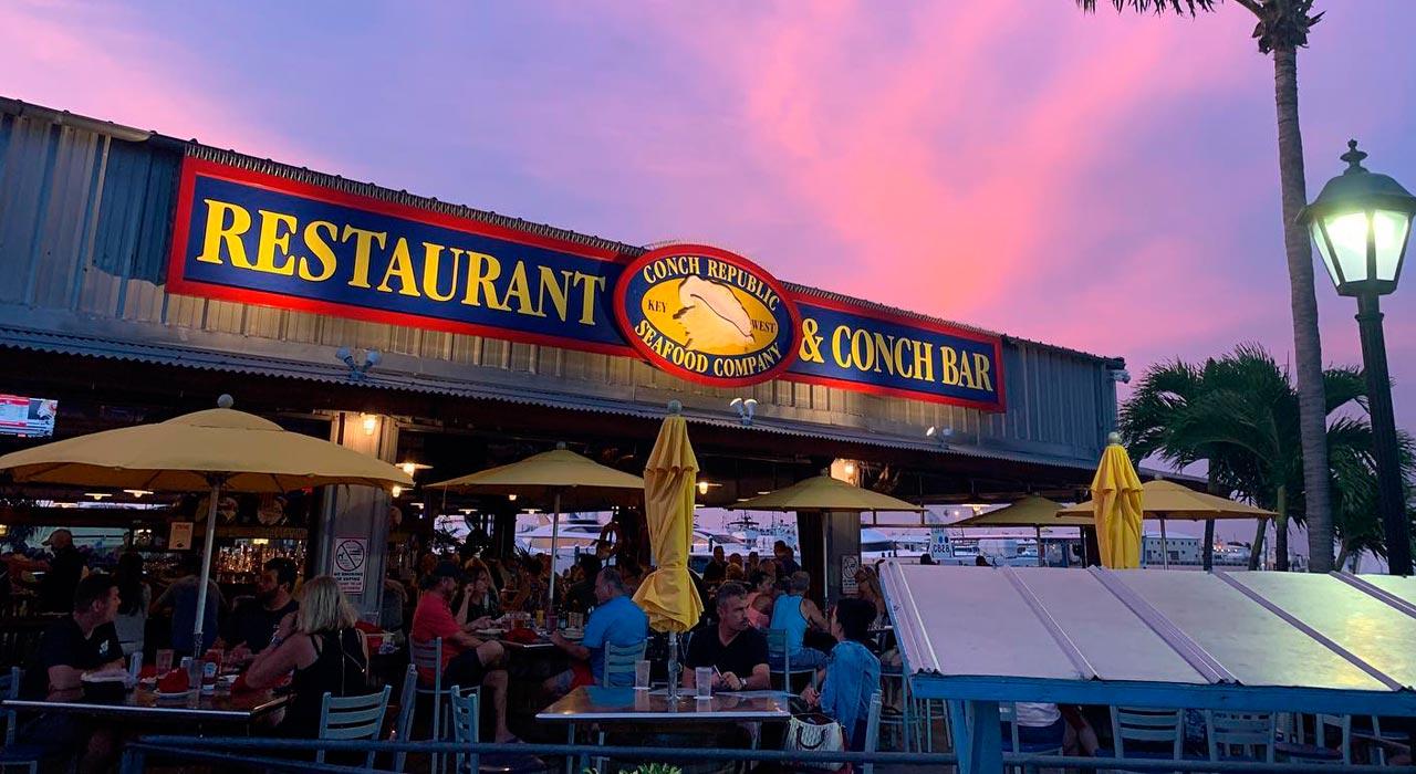 jantar em Key West