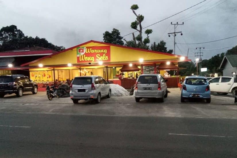 restaurante indonesio em dili