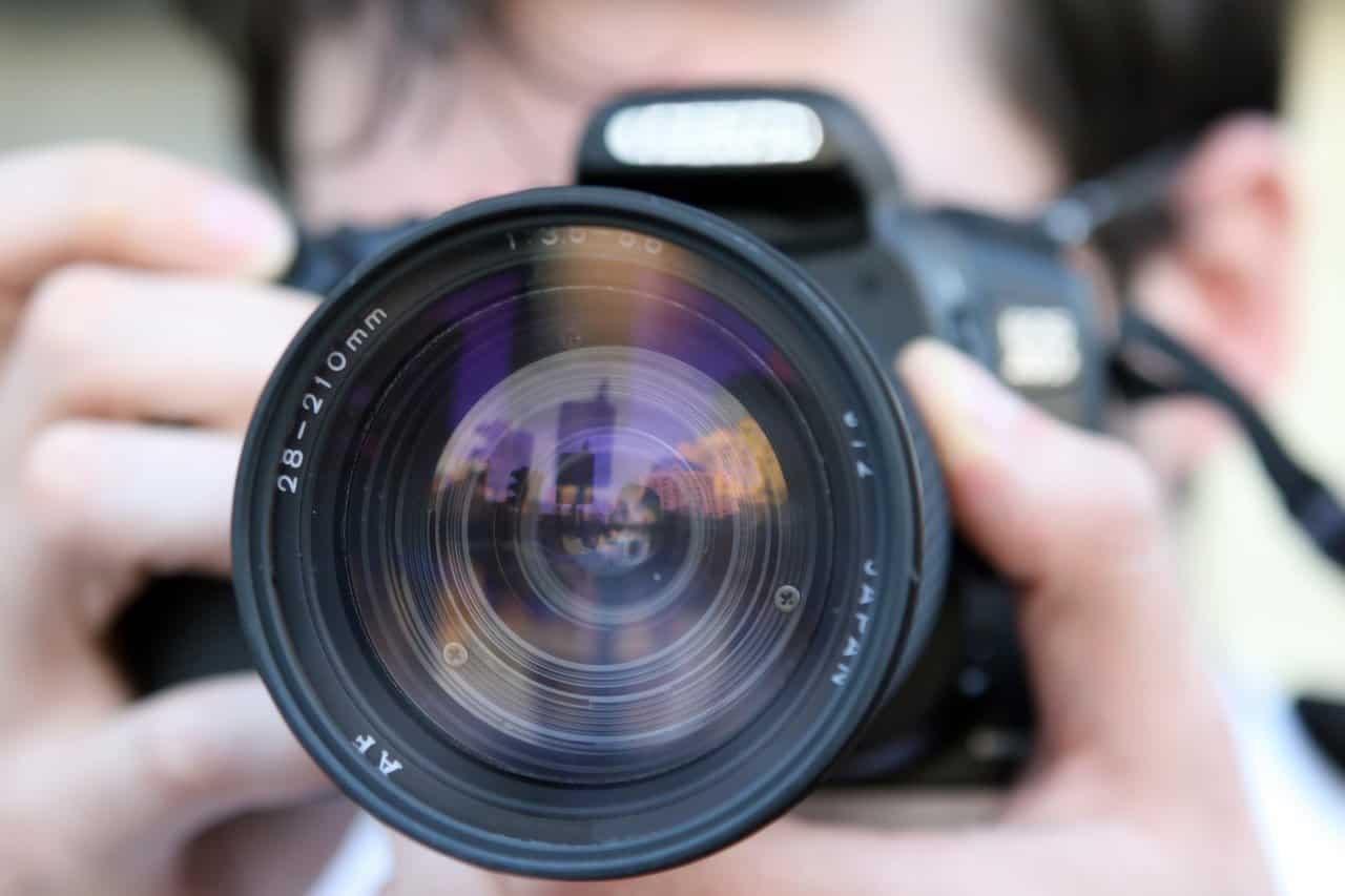 fotos viajando sozinho camera