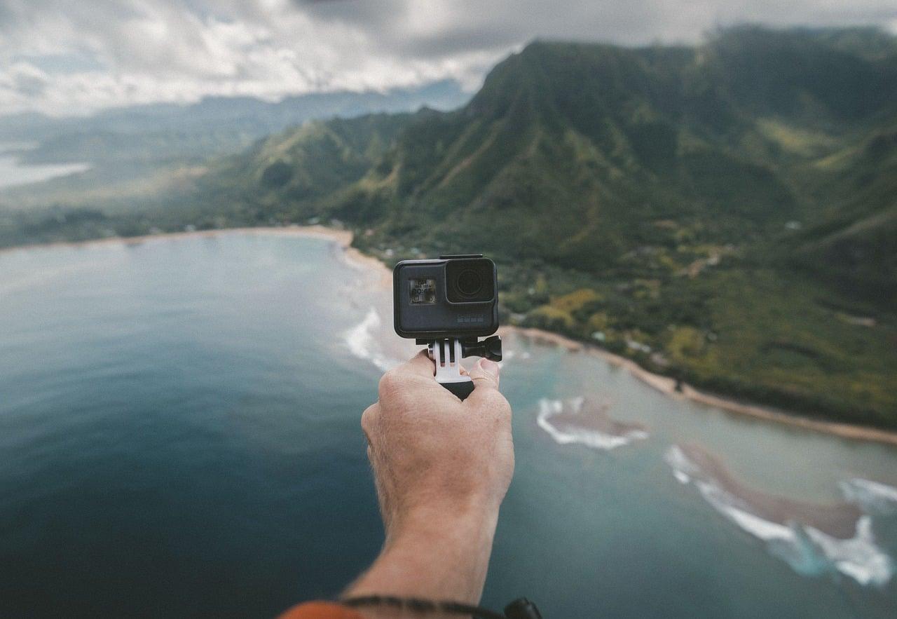 fotos viajando sozinho gopro