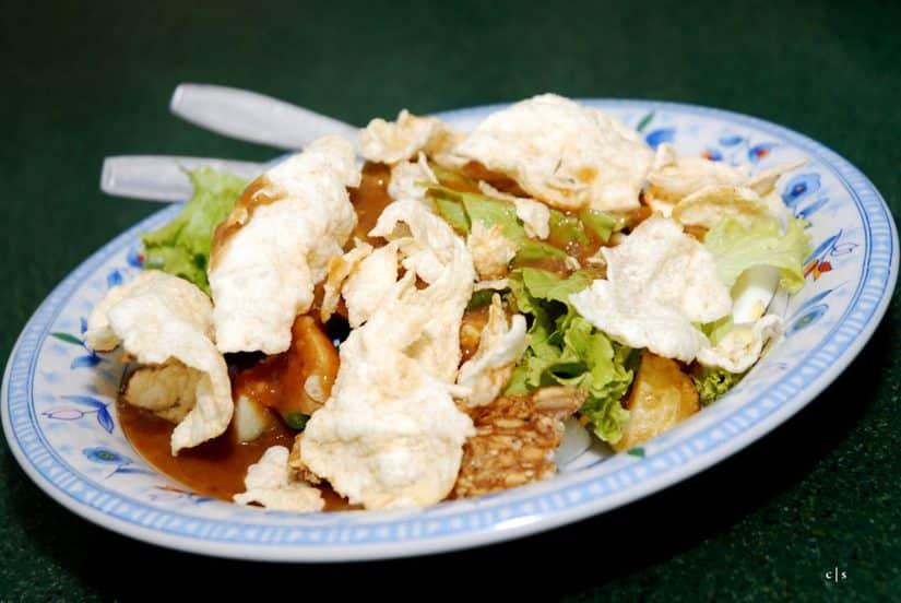 comidas da Indonésia