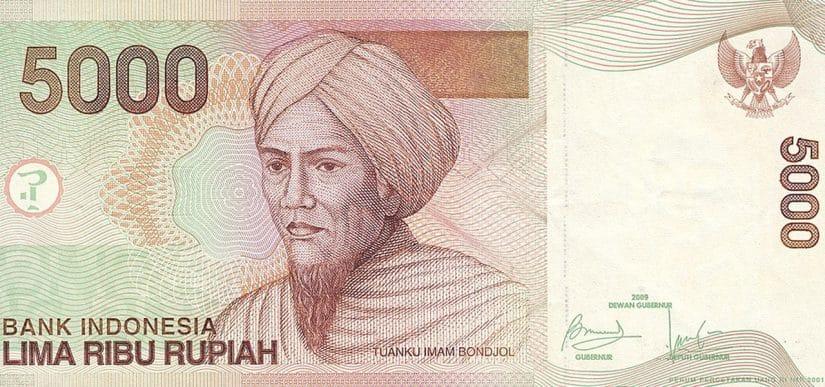 moeda da indonesia simbolo