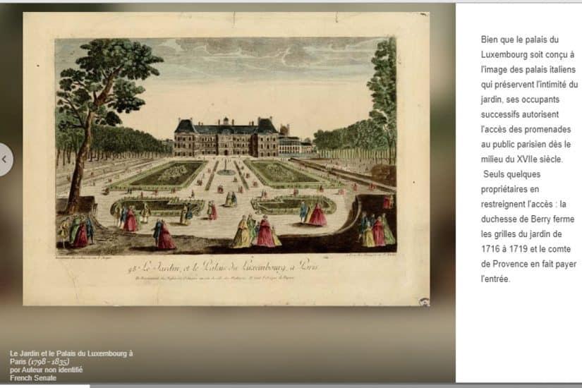 jardim de luxemburgo paris horário de funcionamento