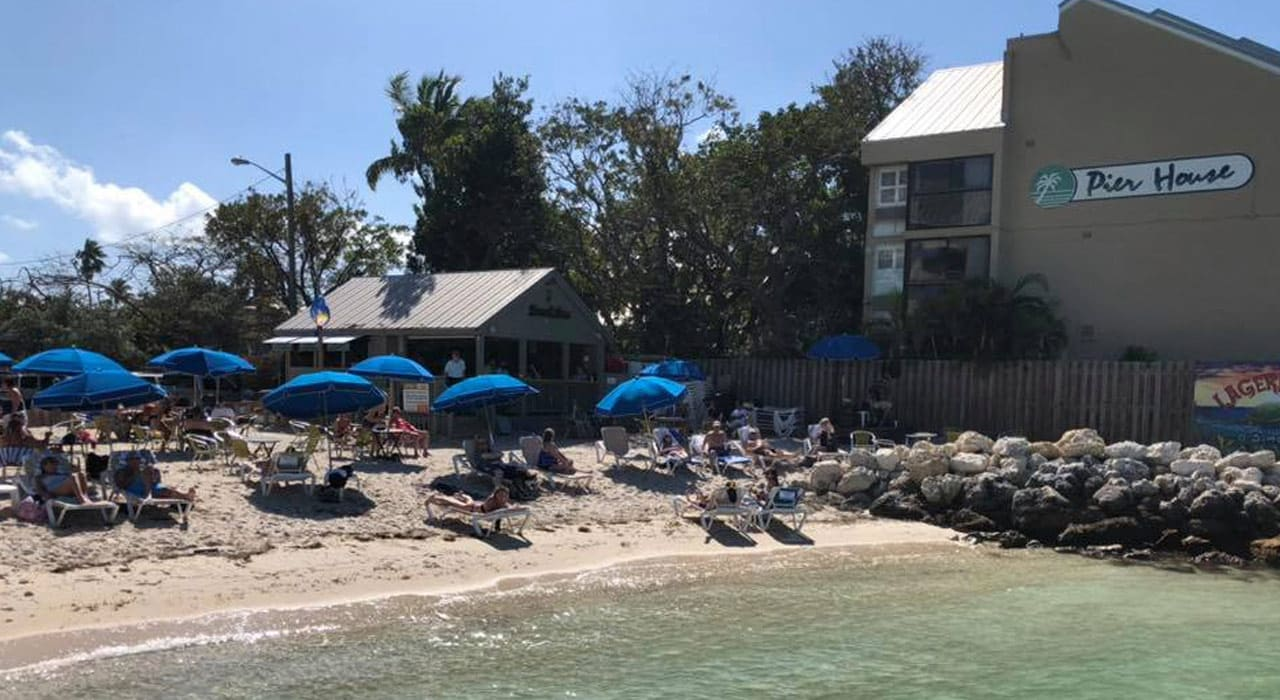 restaurante a beira mar em key west