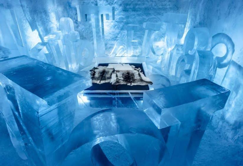 hotel de gelo suécia