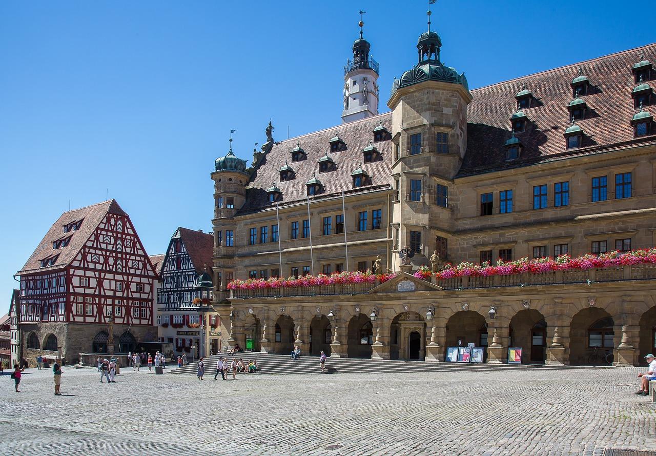 mercado de natal rothenburg