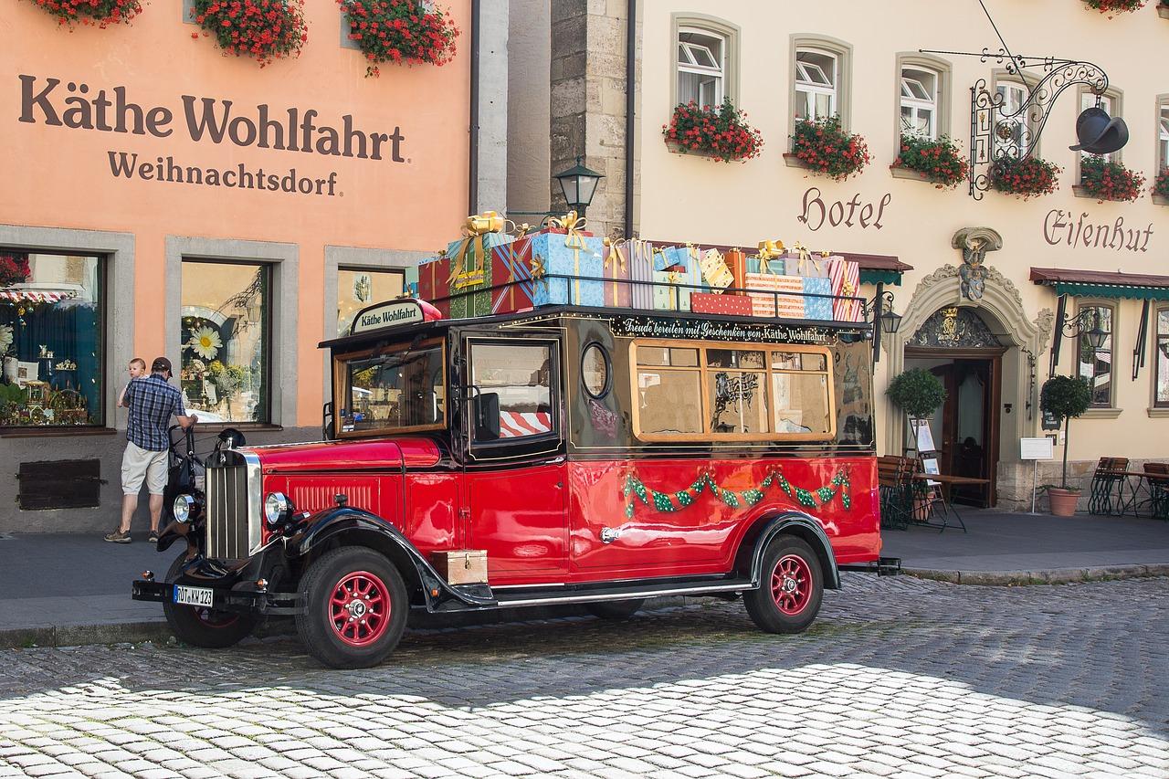 mercados de Natal na Alemanha rothenburg