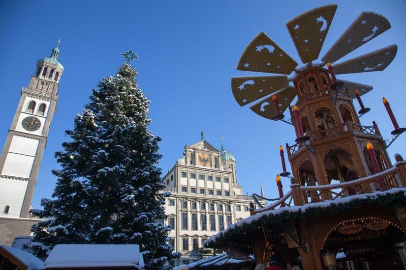 Festas em Augsburg