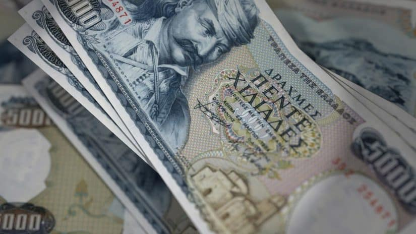 moeda da grecia antes do euro