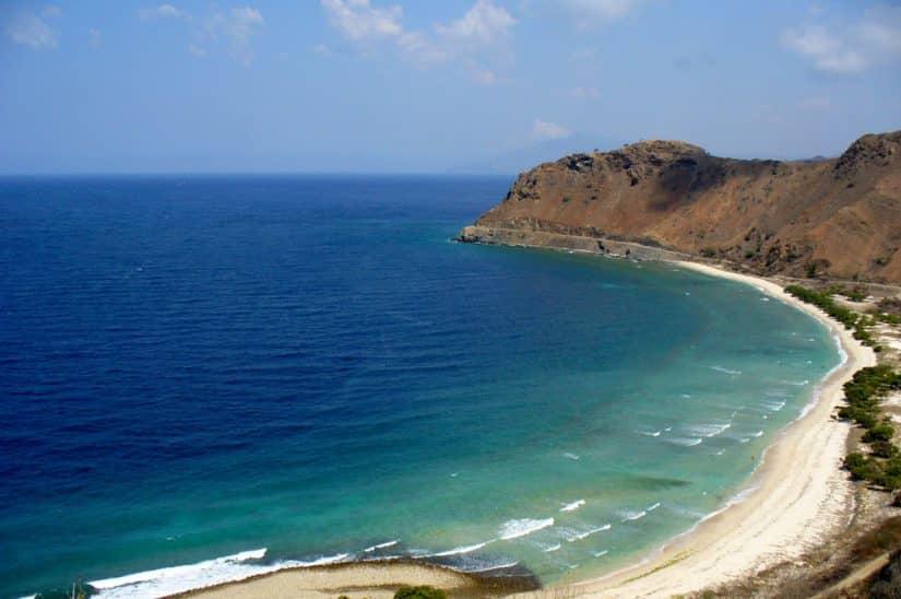 timor leste praias