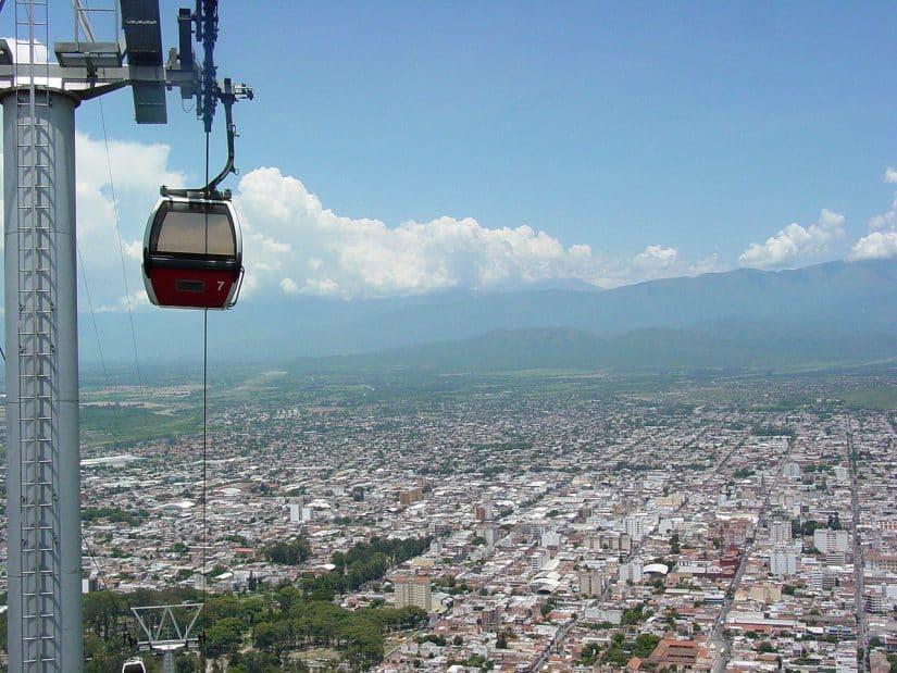 Pontos turísticos de Salta cerro são bernardo