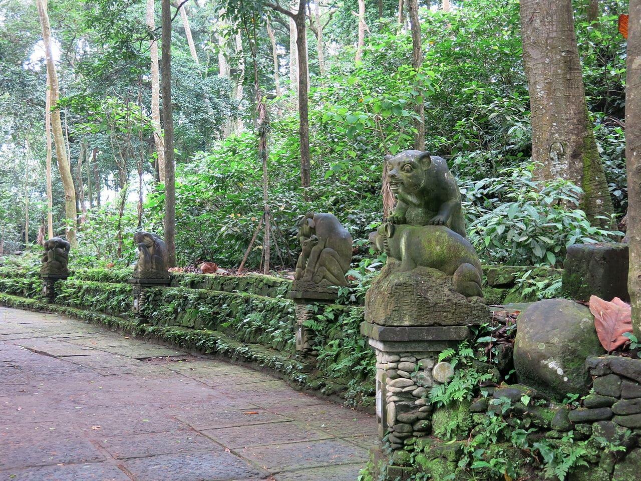pontos turisticos de ubud floresta dos macacos