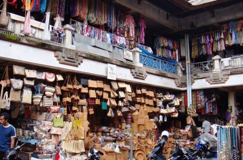 pontos turisticos de ubud mercado