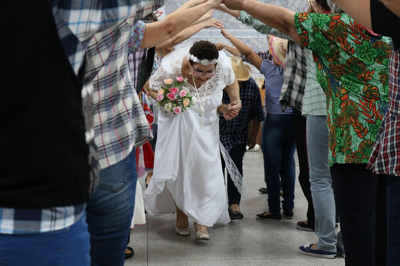 Danças nas Festas Juninas do Nordeste
