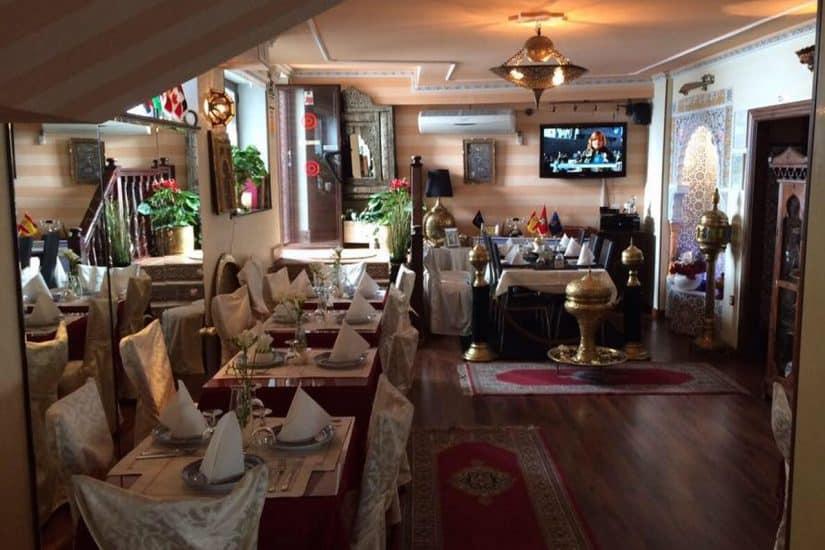 restaurantes em granada Arrayanes
