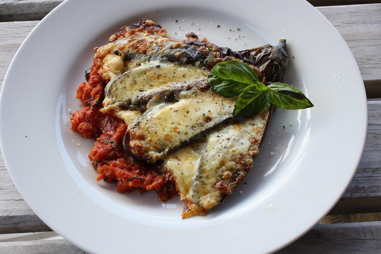 prato vegetariana para comer na Italia