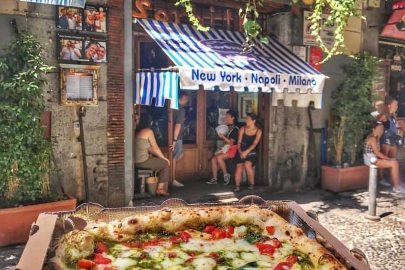 restaurantes em napoles no centro históricos