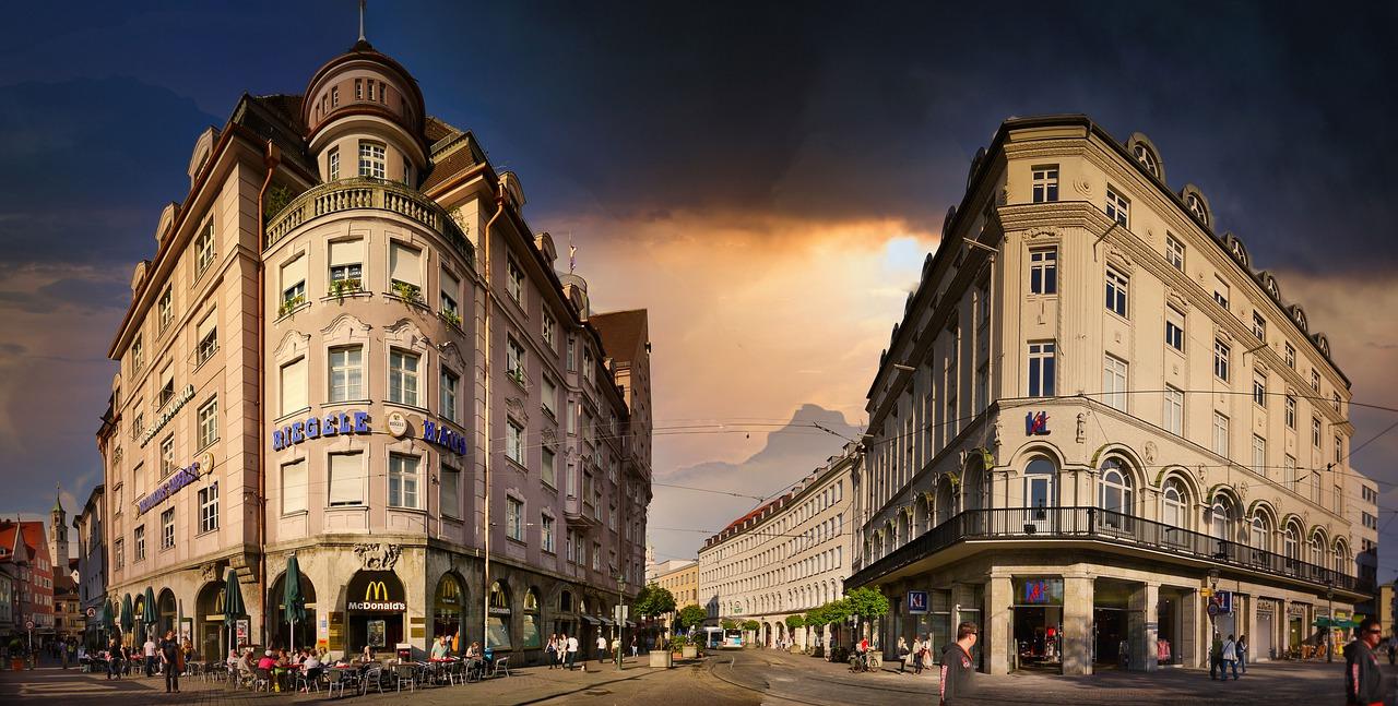 rota romantica Augsburg.