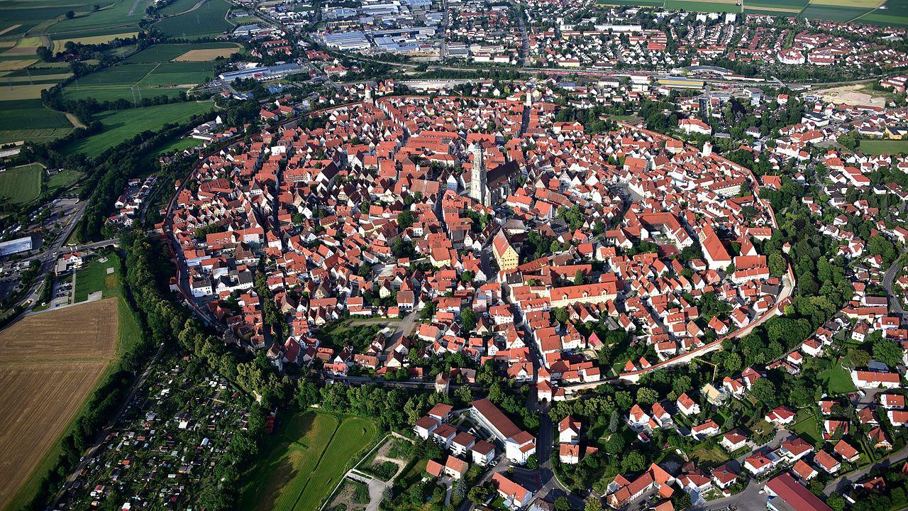 cidade na cratera do meteorito alemanha
