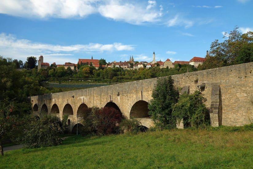 rota romantica alemanha Rothenburg
