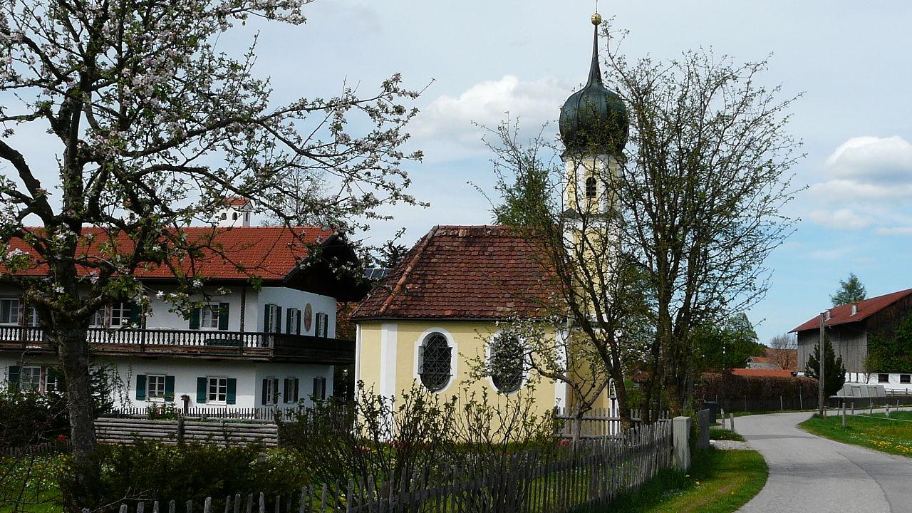 Igreja de St. Jakob em Wildsteig