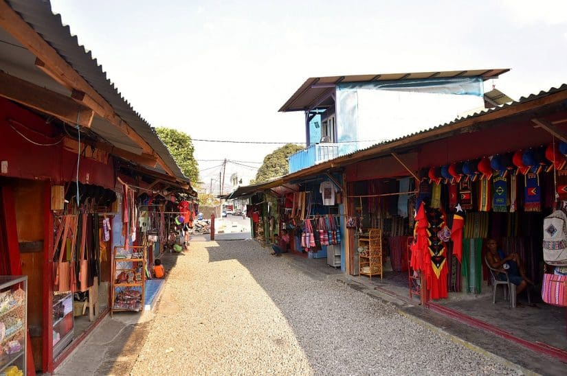 mercado de tais timor leste