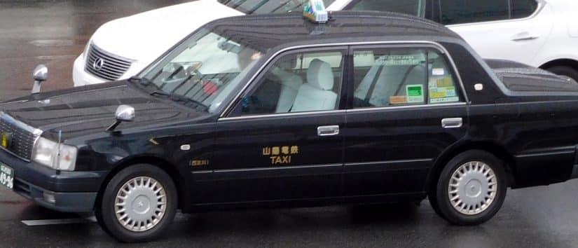 taxi no japao