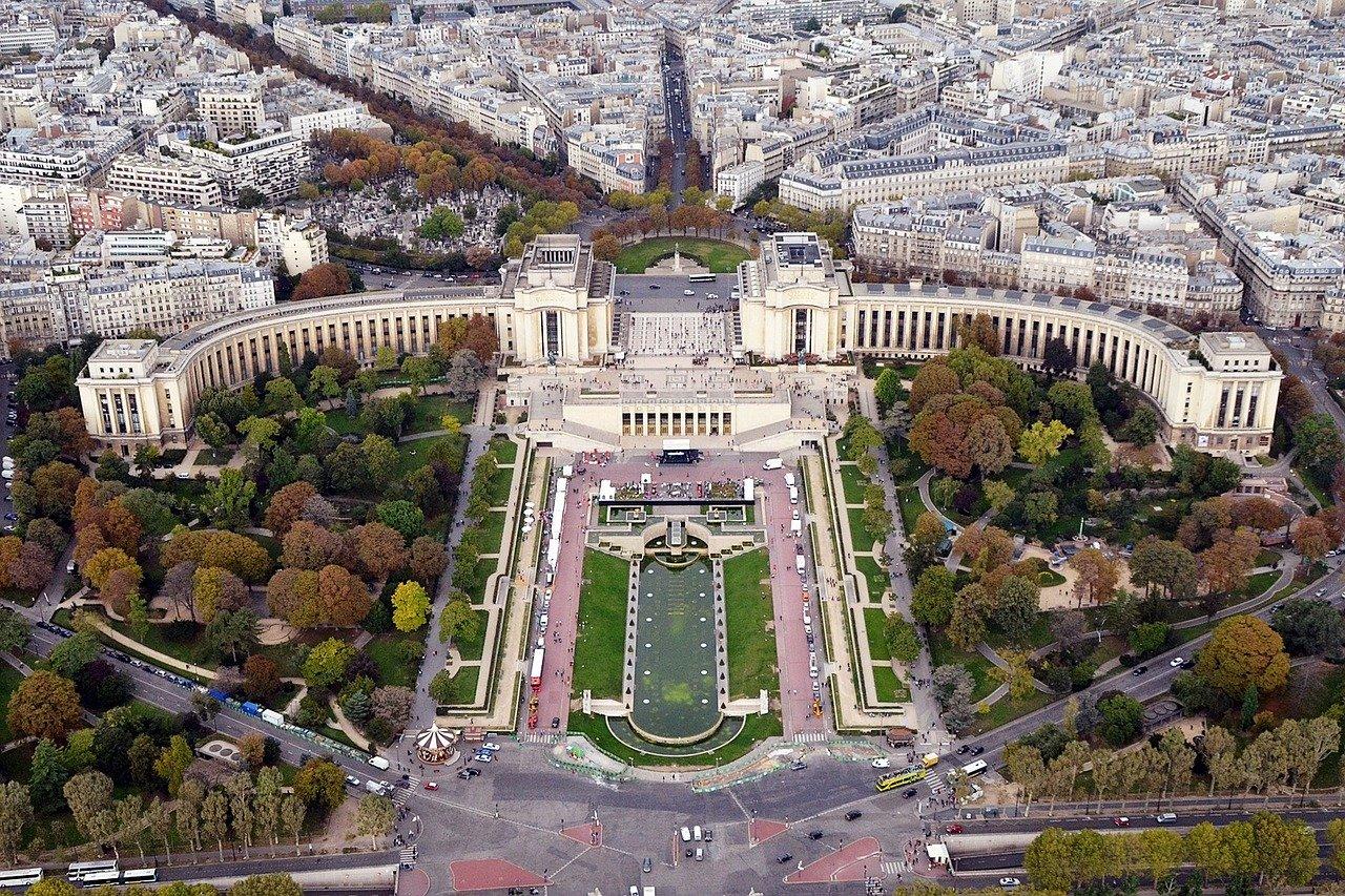 fotos de paris trocadero
