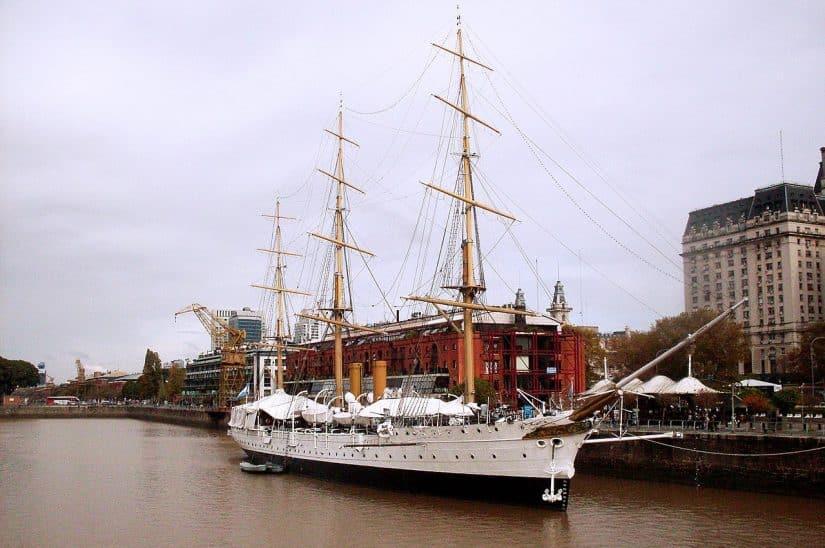 museu barco argentina