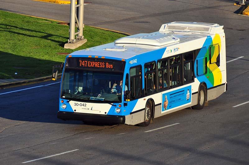 Transporte do aeroporto de Montreal ao centro