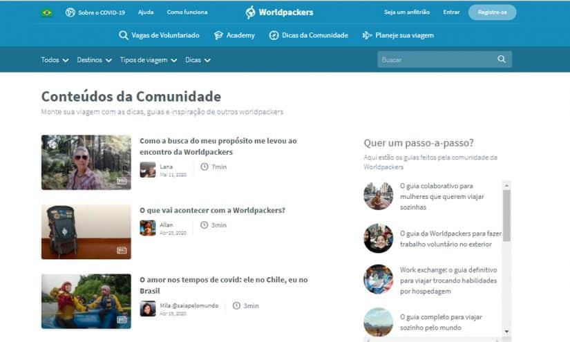Comunidade Worldpackers