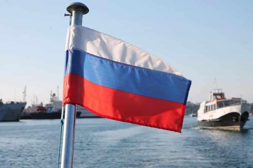 russia bandeira