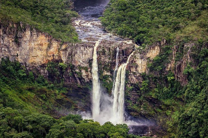 lugares com natureza no Brasil