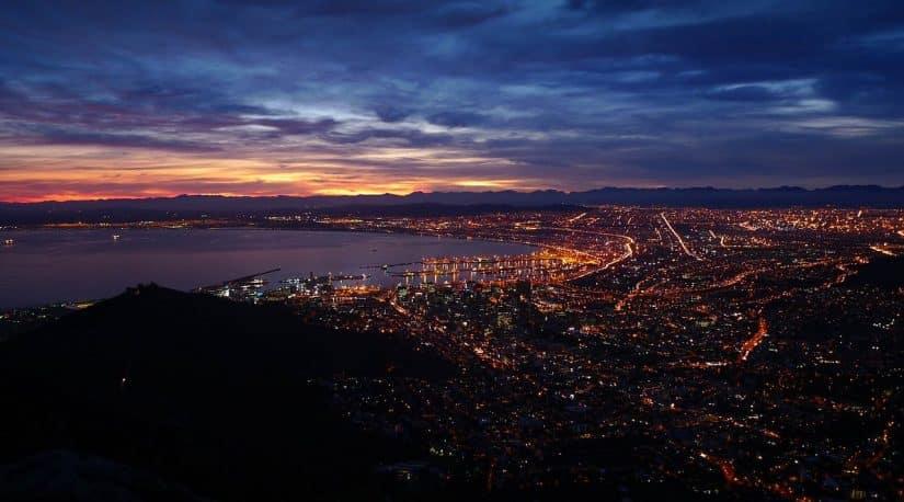 cidades na africa do sul