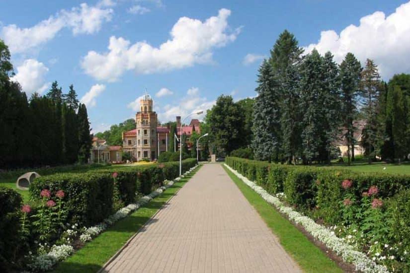 castelos da letonia