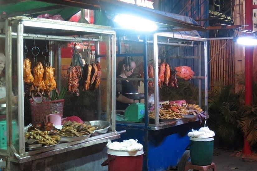 o que comer no camboja