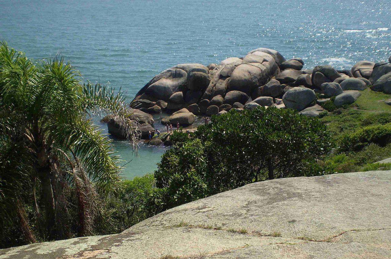 piscinas naturais em Floirianópolis