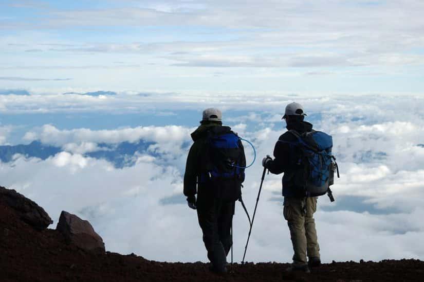 passeio para o monte fuji