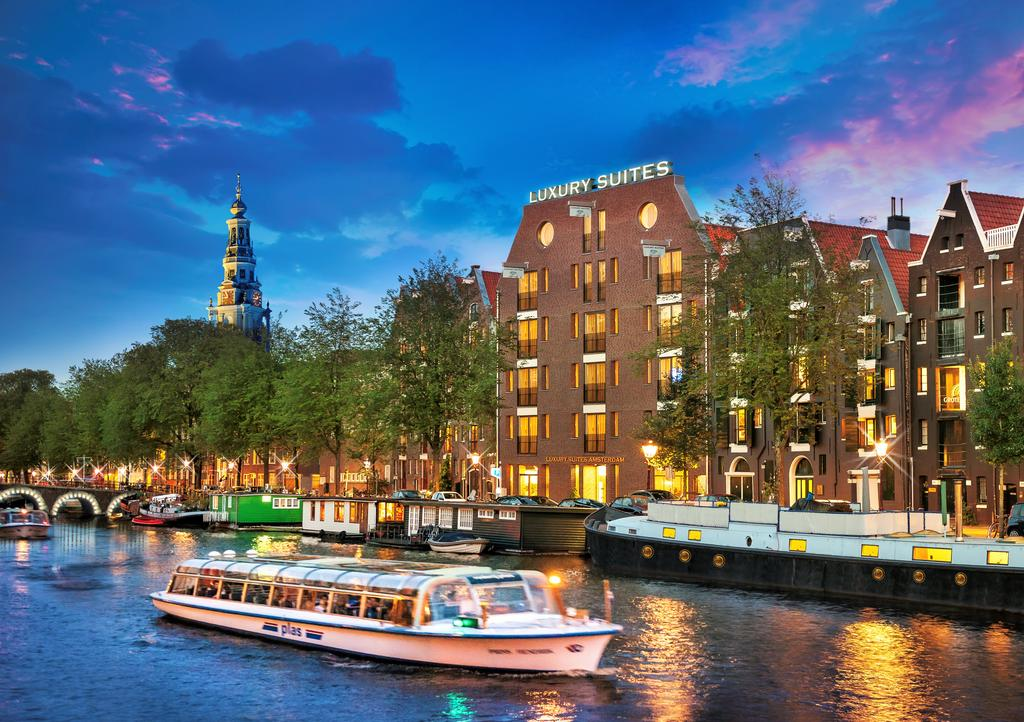 hotéis de luxo em Amsterdam