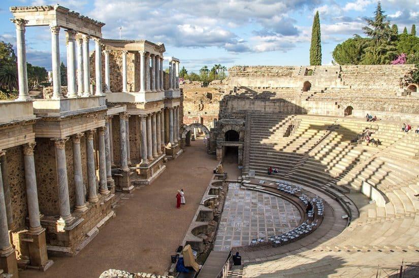 ruinas romanas na espanha