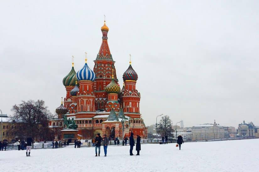 clima na Rússia