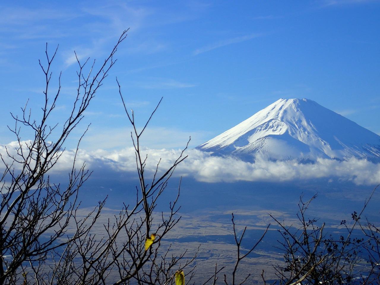 monte fuji japao