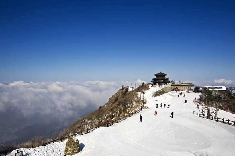 coreia do sul inverno