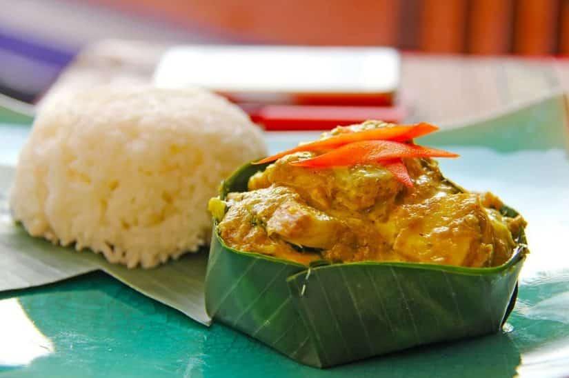 Fish Amok camboja