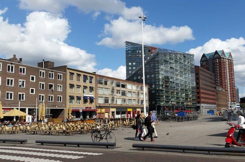 onde se hospedar em Roterdã