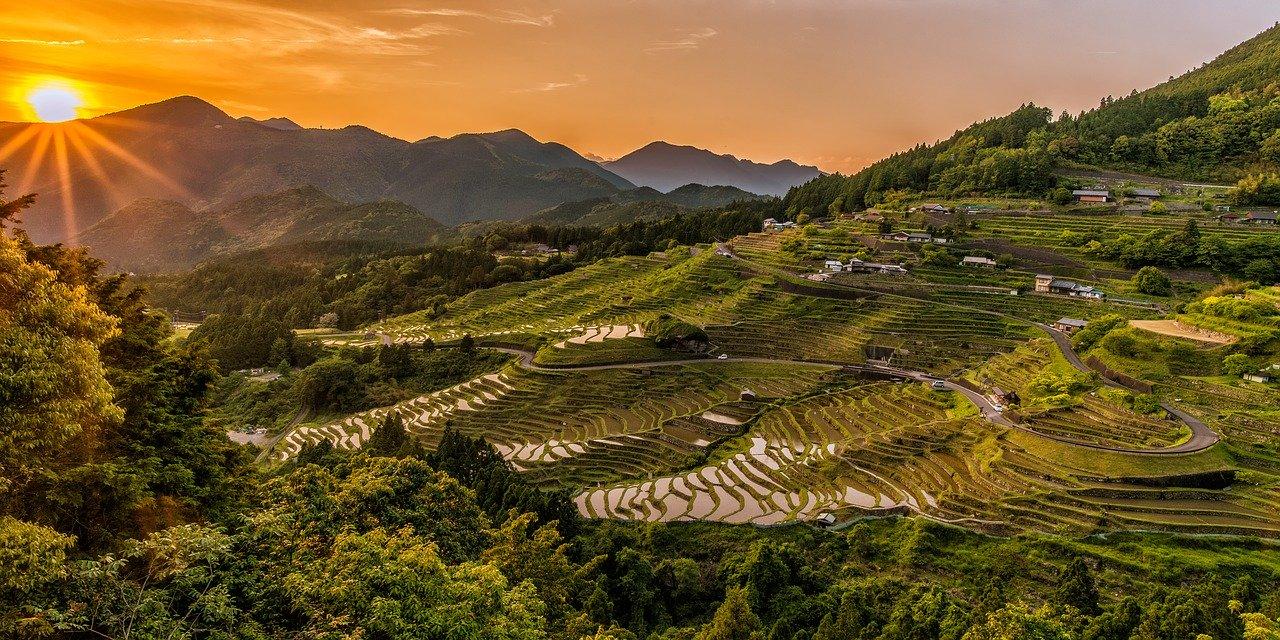paisagens do japão