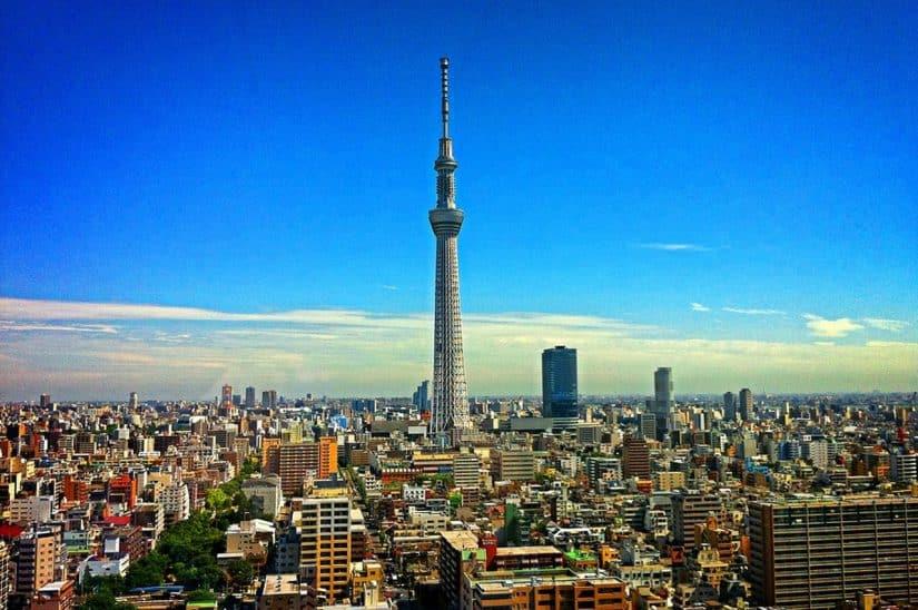 torre de tóquio