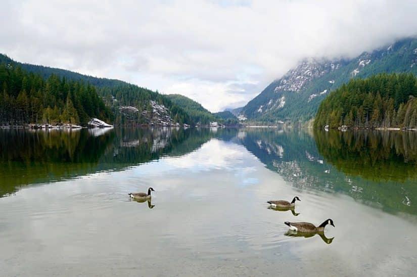 buntzen lake canada